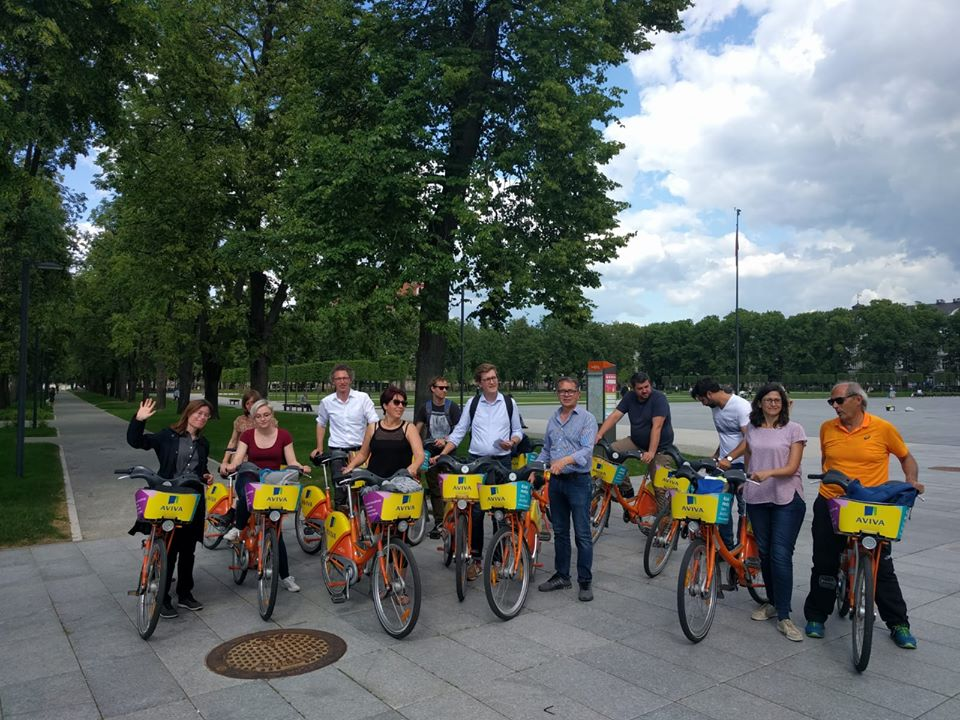 "Interreg Europe programos projektas ""Cyclewalk"""