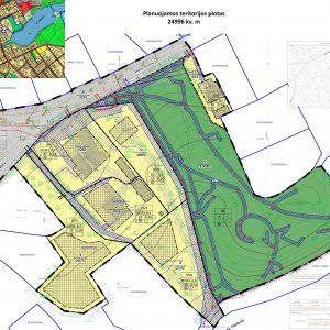 Skuptūrų parko sklypo suformavimo Molėtų mieste detaliojo plano keitimas