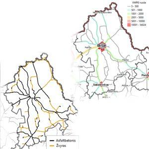 Biržų rajono savivaldybės bendrojo plano keitimo susisiekimo dalis